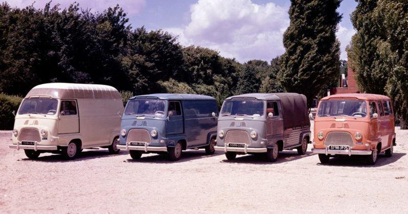 Renault Estafette - wersje nadwoziowe
