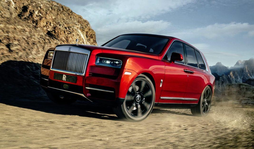 Rolls-Royce Cullinan - dynamiczne