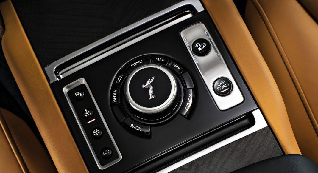 Rolls-Royce Cullinan - pokrętło