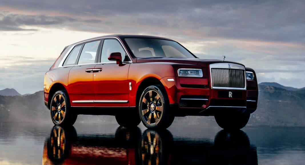 Rolls-Royce Cullinan - przód