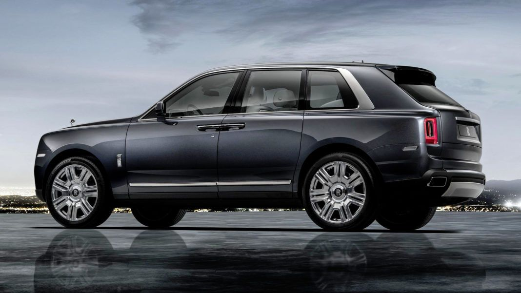 Rolls-Royce Cullinan - tył