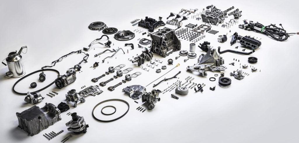 Ford 1.0 EcoBoost - konstrukcja