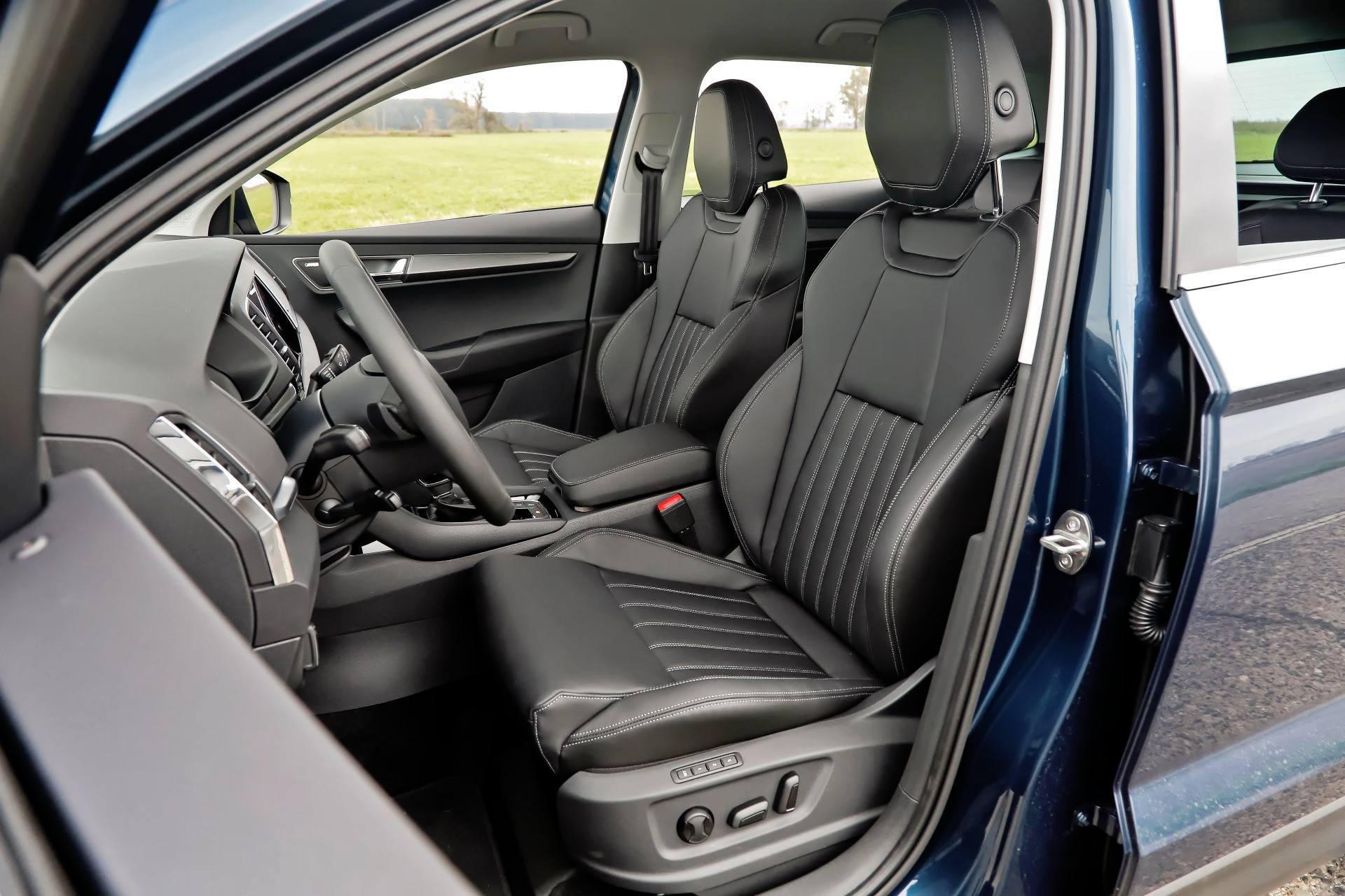 Skoda Karoq - fotel kierowcy