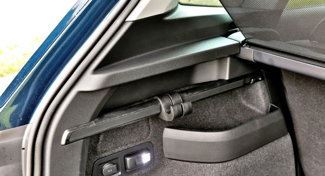 Skoda Karoq - wnęki w bagażniku