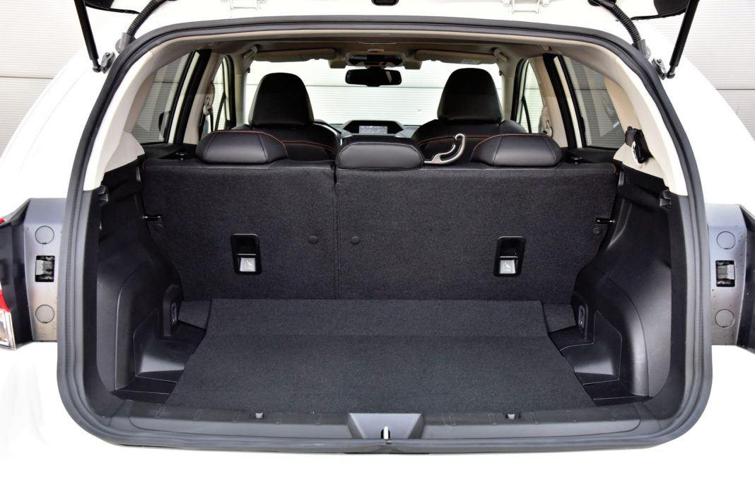 Subaru XV - bagażnik