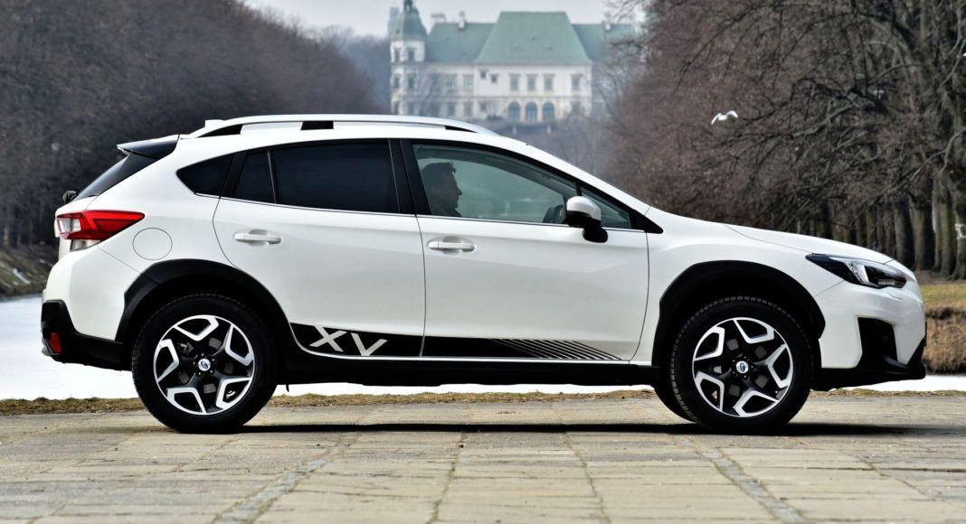 Subaru XV - bok