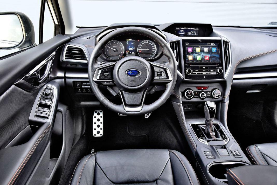 Subaru XV - deska rozdzielcza