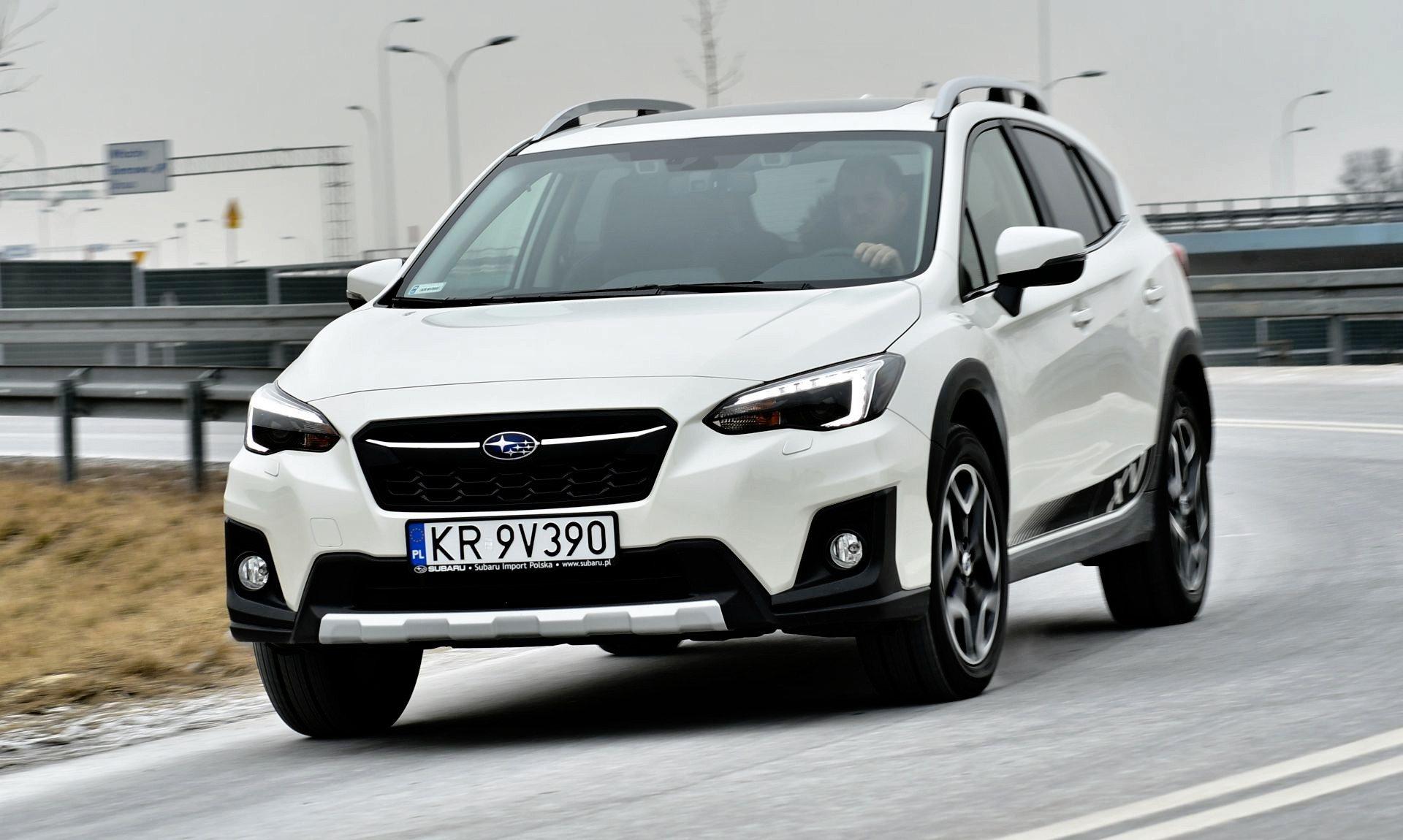Subaru XV - dynamiczne
