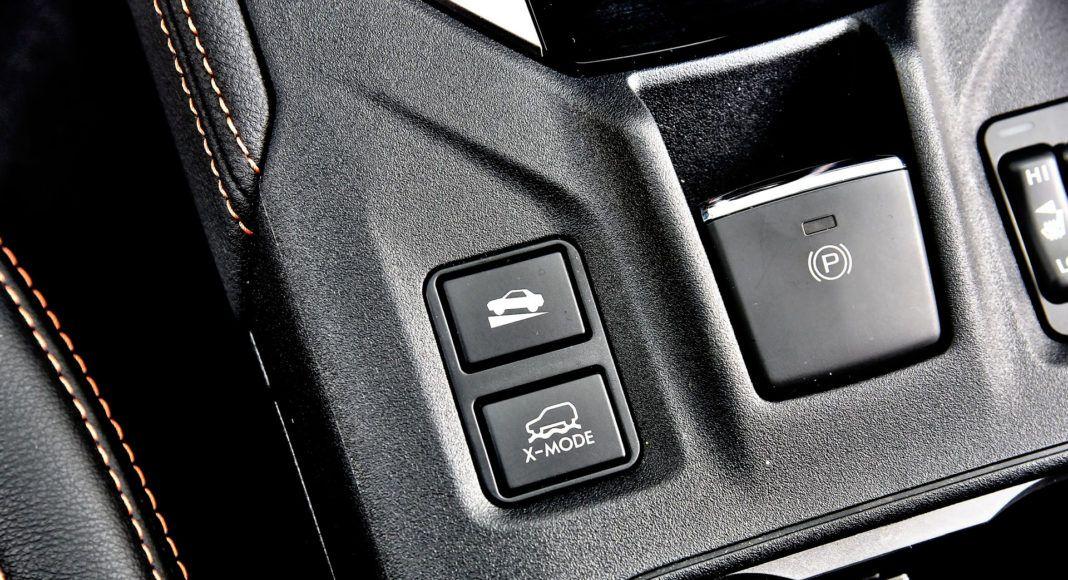 Subaru XV - tryby jazdy
