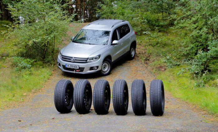 Test opon do SUV 2018 - otwierające