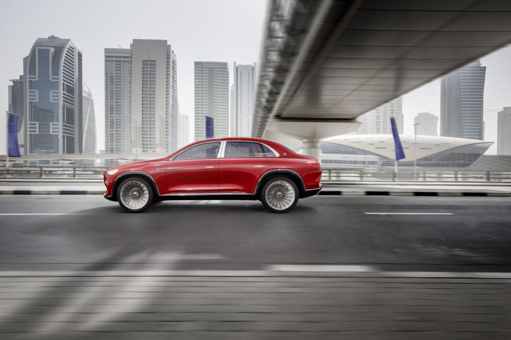 Prototyp Vision Mercedes-Maybach Ultimate Luxury