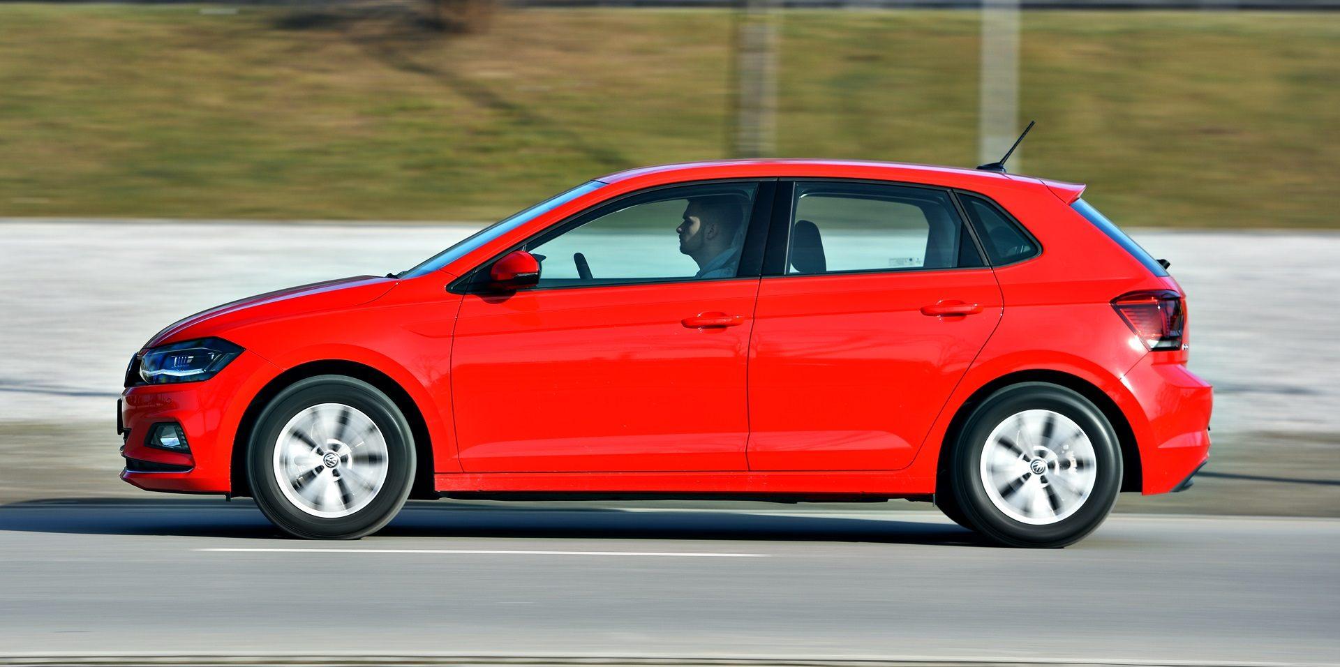 Volkswagen Polo - dynamiczne