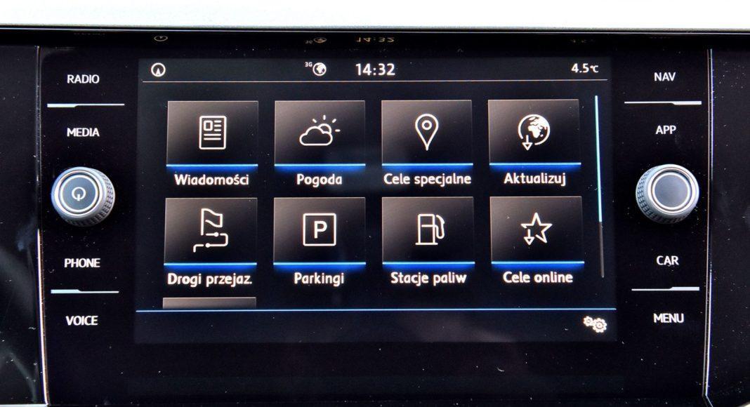 Volkswagen Polo - ekran