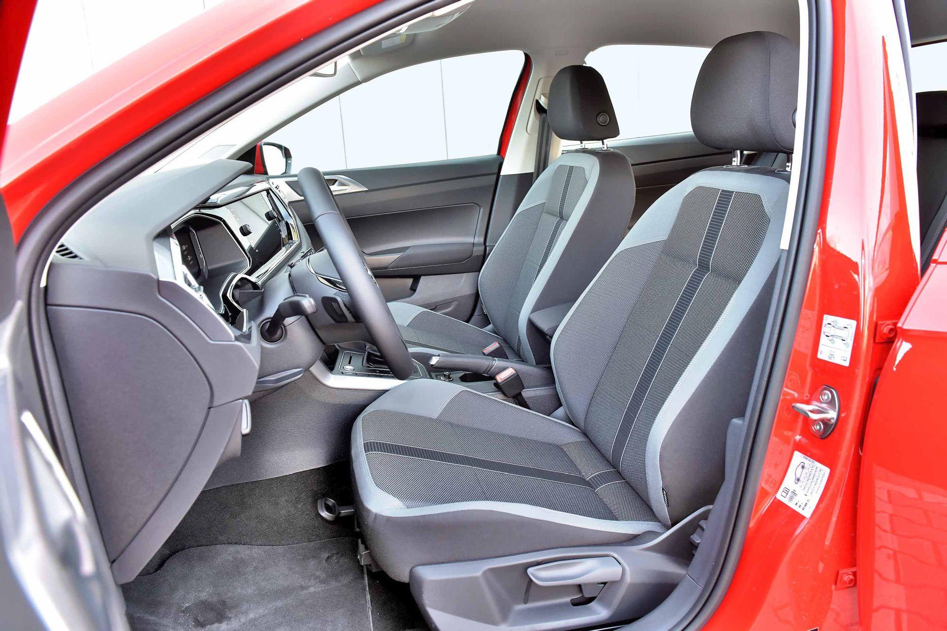 Volkswagen Polo - fotel kierowcy