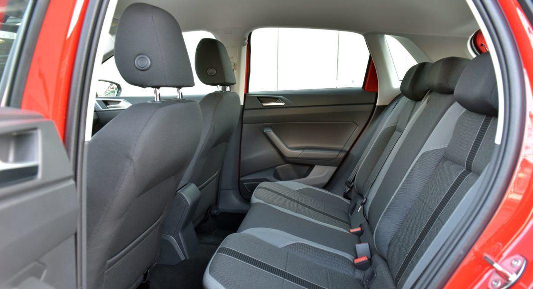 Volkswagen Polo - tylna kanapa