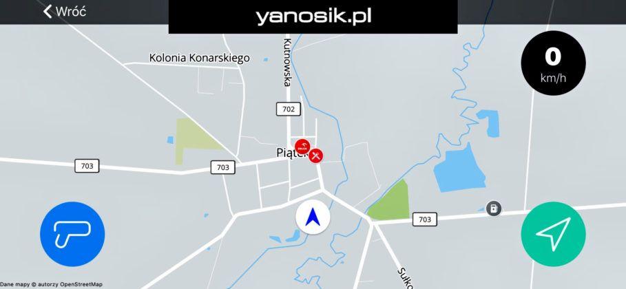 Yanosik - screenshot