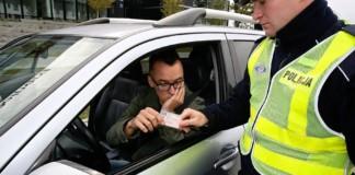 Zatrzymanie prawa jazdy - otwierające
