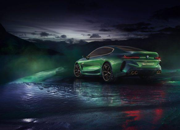 BMW M8 Gran Coupe Concept (2018)