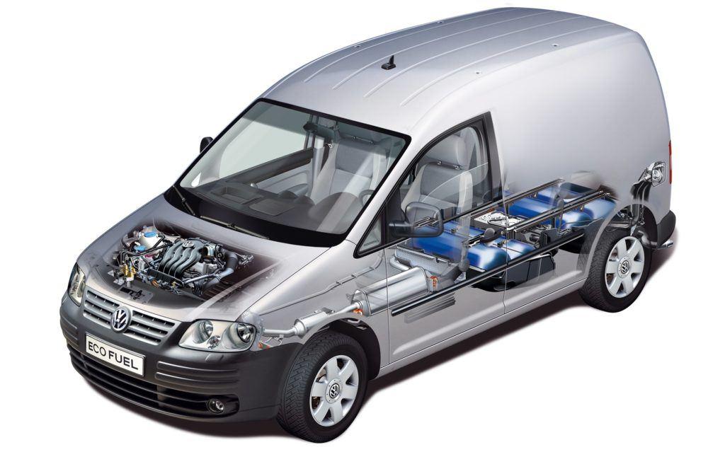 VW z fabryczną instalacjąCNG