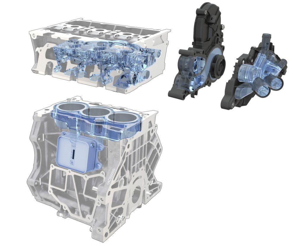 1.0 TSI - układ chłodzenia