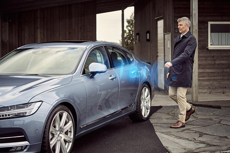 Volvo S90 - smartfon zamiast kluczyka