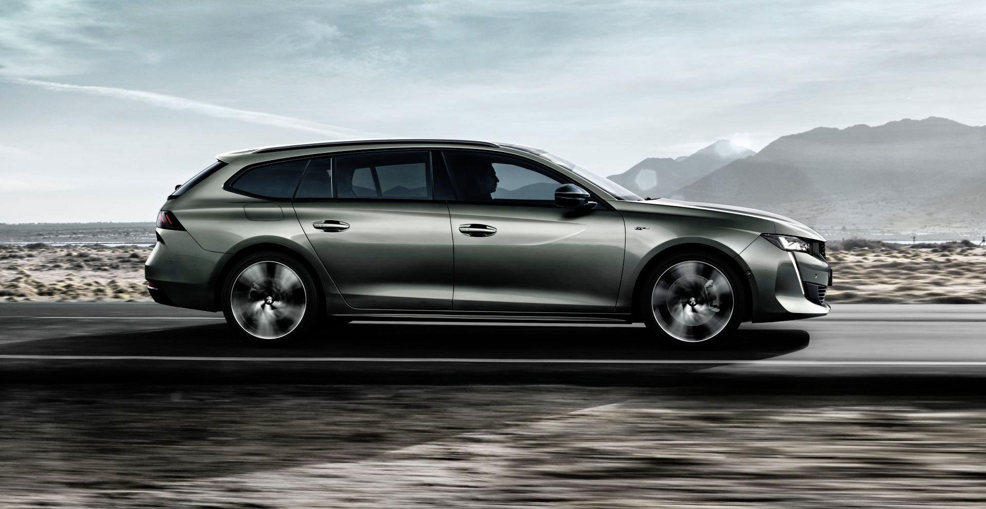 Nowy Peugeot 508 SW - dynamiczne
