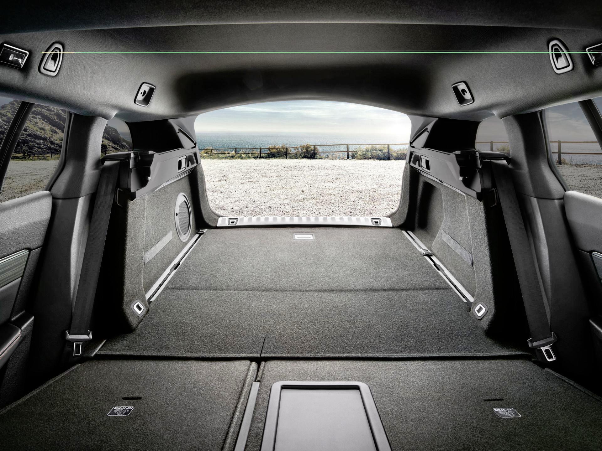 Peugeot 508 SW - bagażnik
