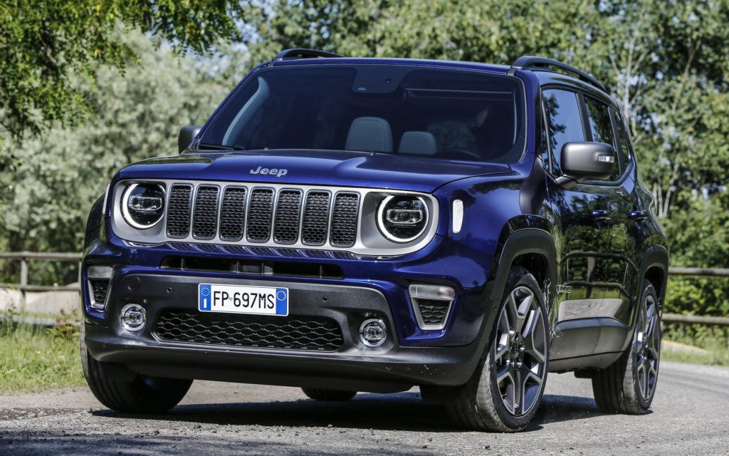 Jeep Renegade po liftingu (2019)