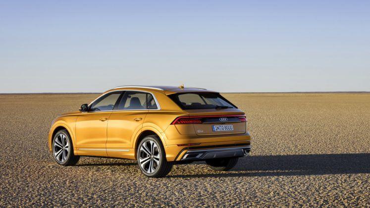 Audi Q8 (2019) – tył
