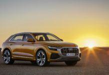 Audi Q8 (2019) – przód