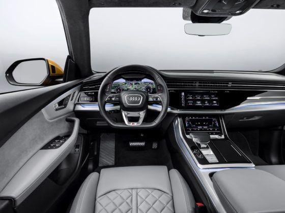 Audi Q8 (2019) – kokpit