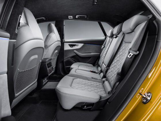 Audi Q8 (2019) – tylna kanapa