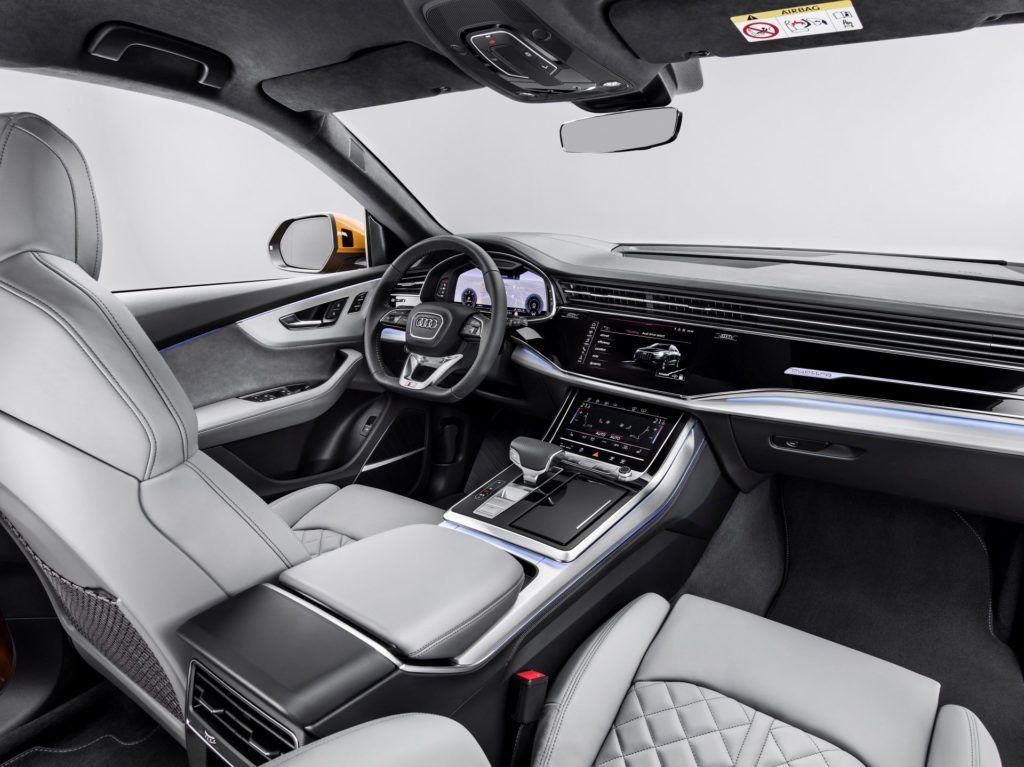 Audi Q8 (2019) - deska rozdzielcza/kokpit