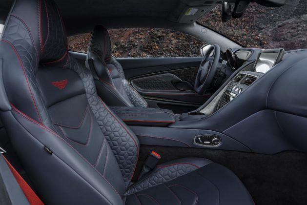 Aston Martin DBS Superleggera - wnętrze