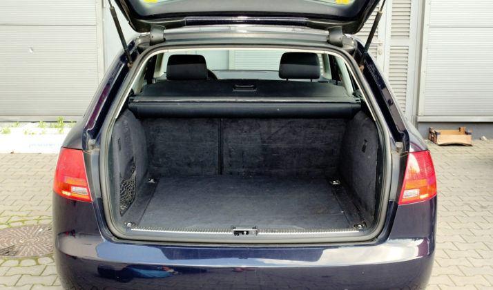 Audi A4 B7 - bagażnik