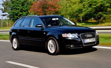 Audi A4 B7 - otwierające