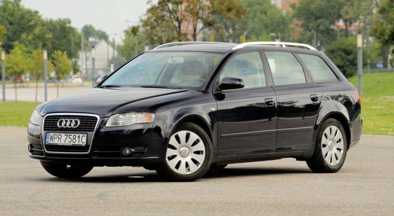Audi A4 B7 - przód