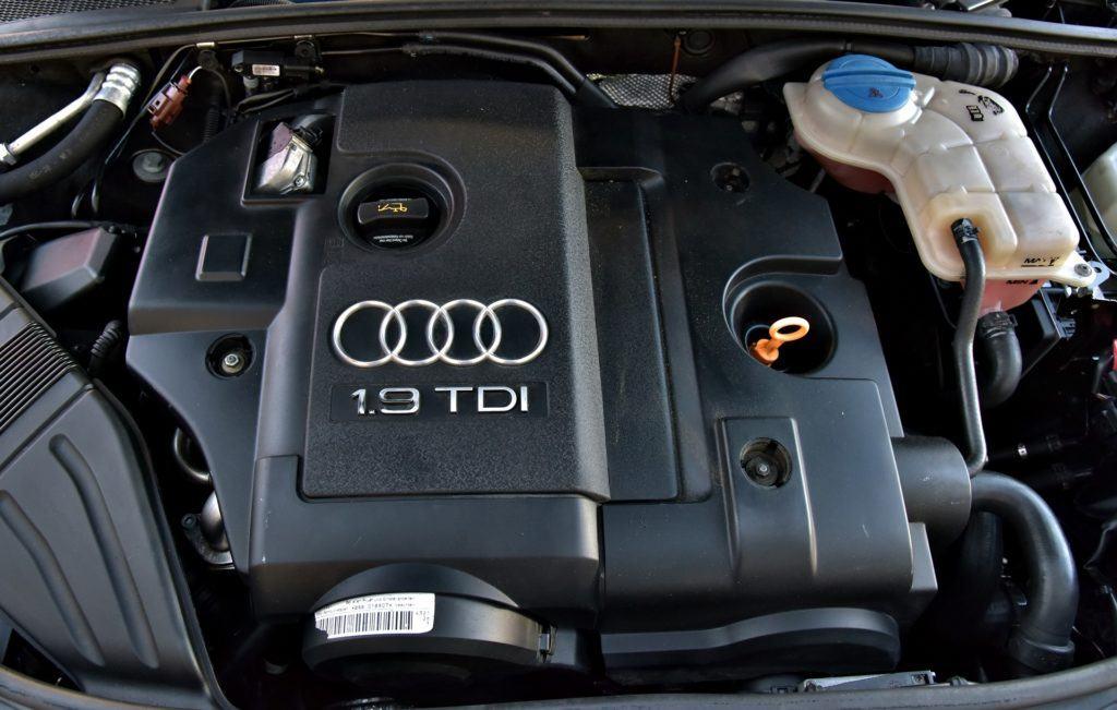 Audi A4 B7 - silnik