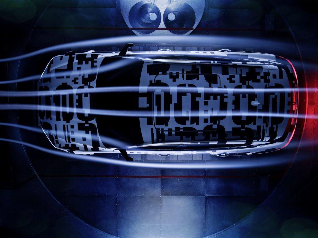 Audi e-tron - testy prototypu w tunelu aerodynamicznym
