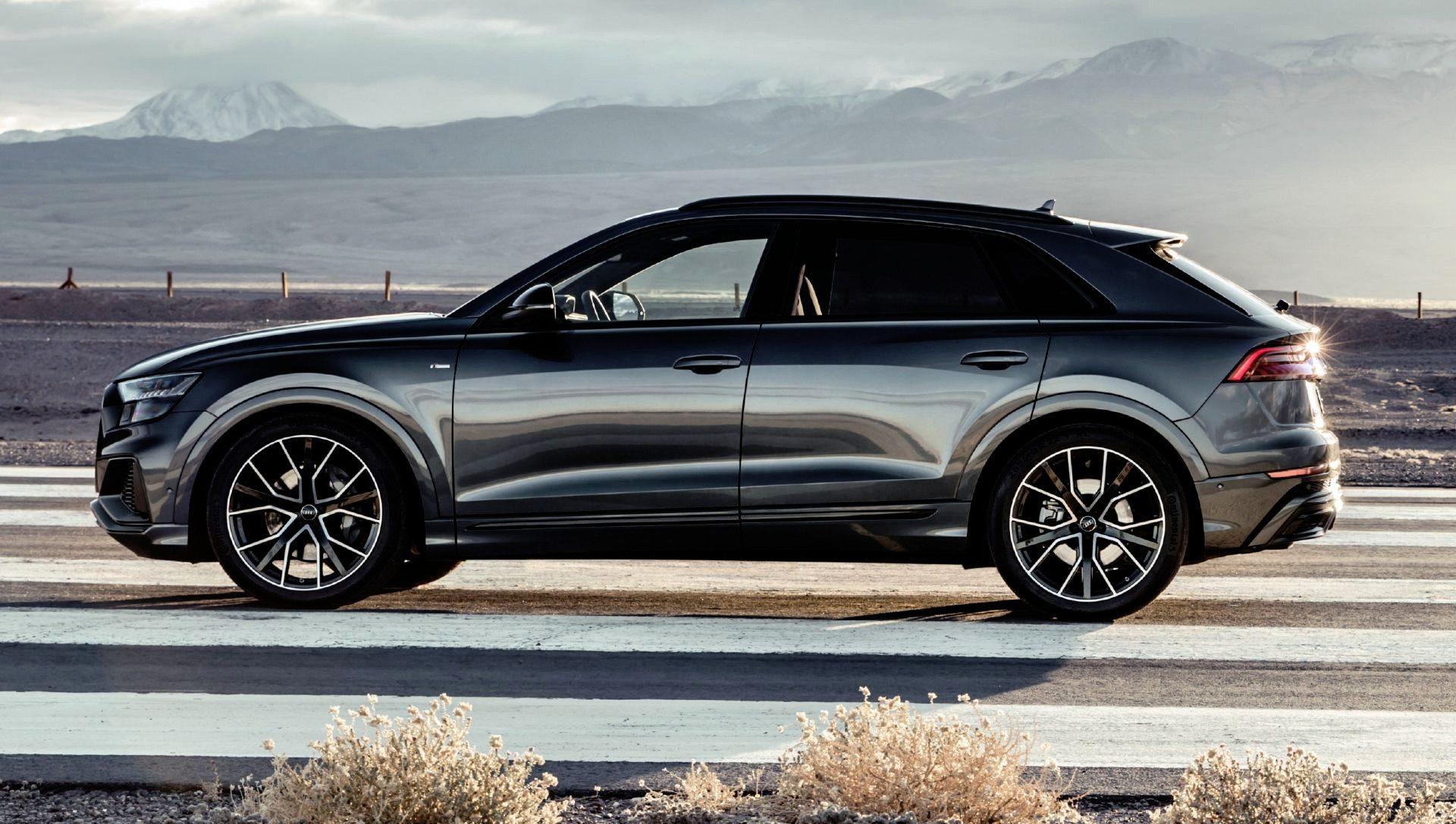 Nowe Audi Q8 – pierwsza jazda