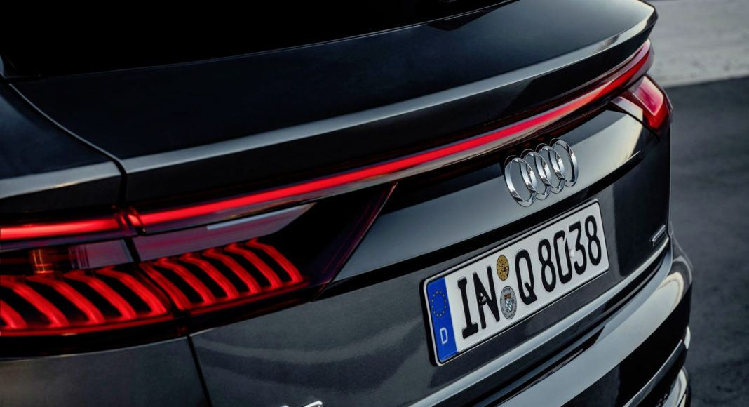 Audi Q8 - tylne światła