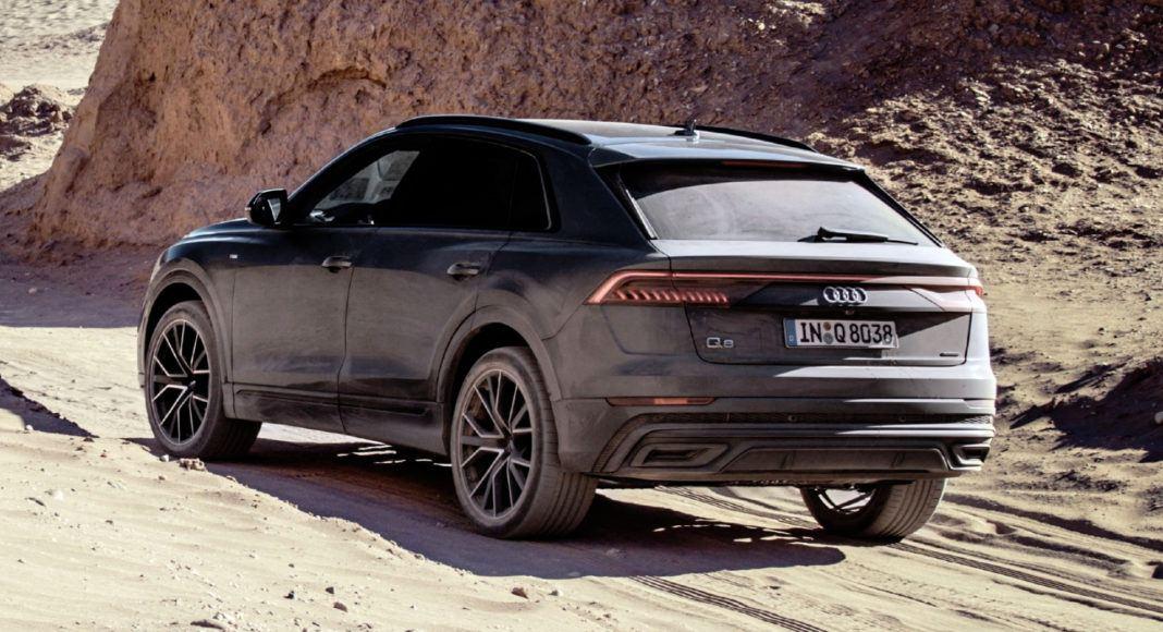 Audi Q8 - zdjęcia terenowe