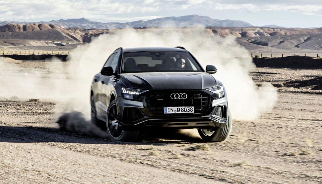 Audi Q8 - dynamiczne