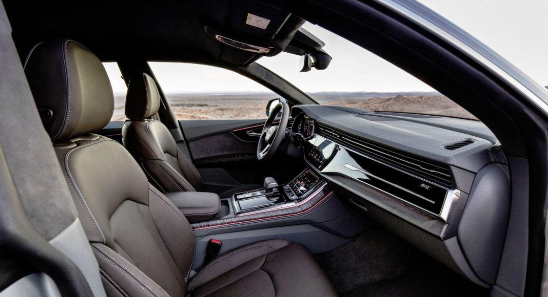 Audi Q8 - fotel kierowcy