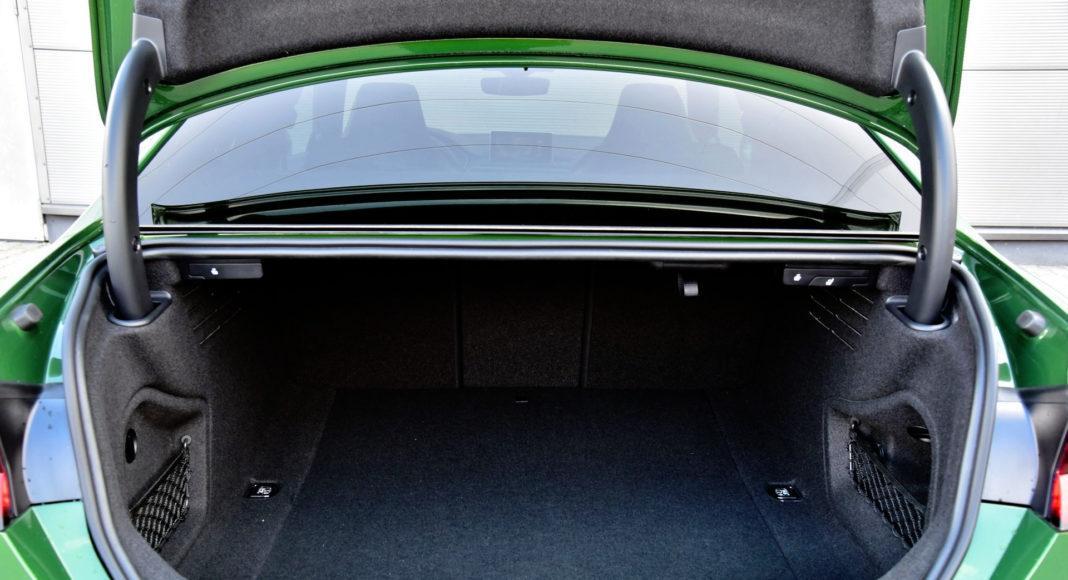 Audi RS 5 - bagażnik