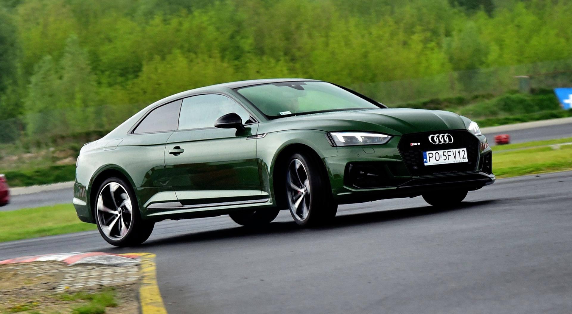 Audi RS 5 - dynamiczne