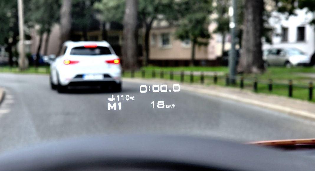 Audi RS 5 - head-up