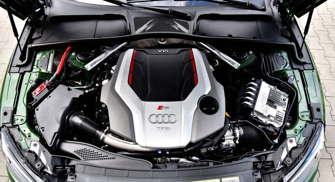 Audi RS 5 - silnik