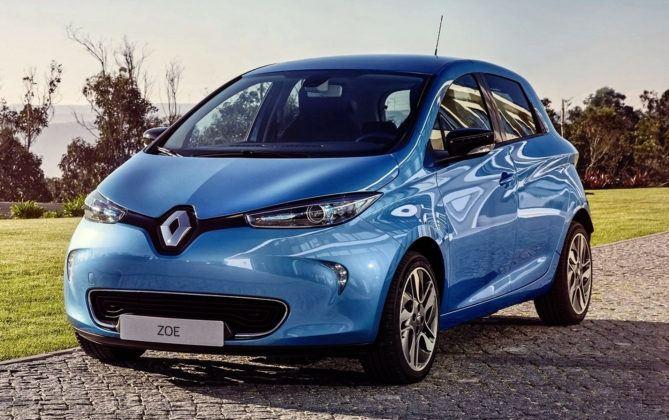 Auta elektryczne - Renault Zoe
