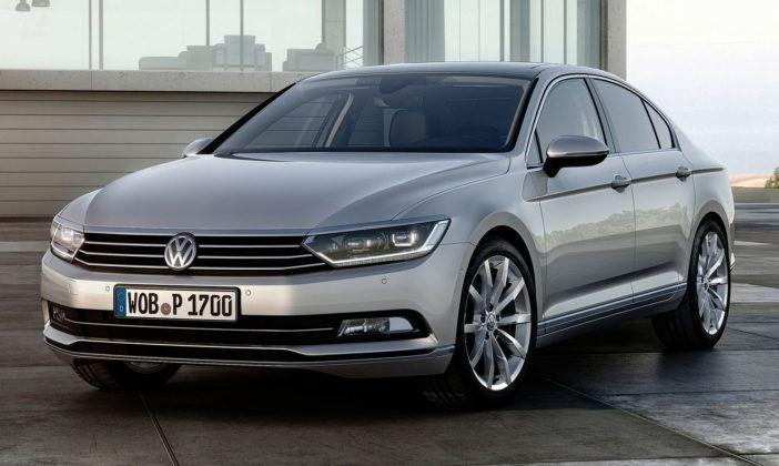 Auta klasy średniej - Volkswagen Passat